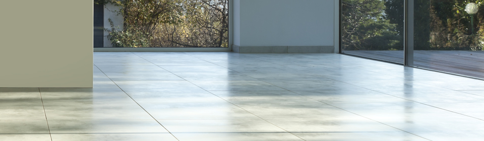 marmeren vloer met zonlicht